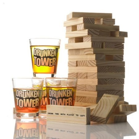 Drunken tower English