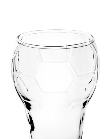 Football beer glass