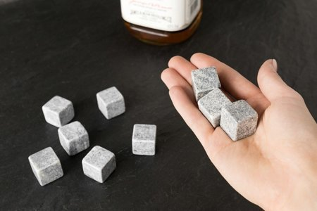 Ice whiskey stones