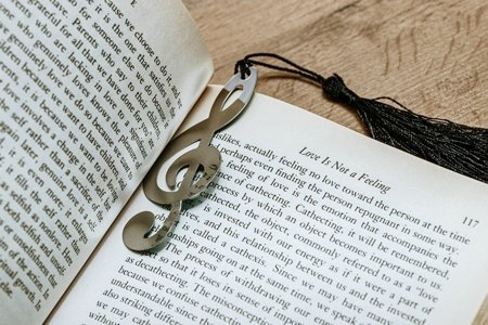 Music bookmark
